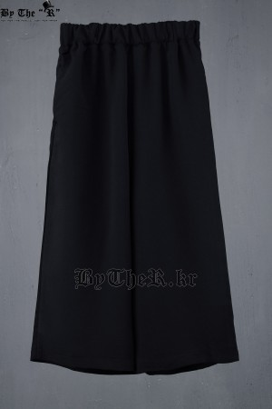 ByTheR Waist Band Crop Wide Pants