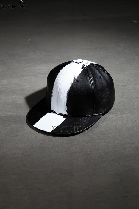 ByTheR Vertical White Snapback