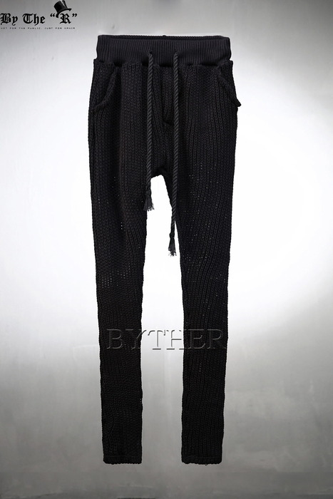 ByTheR Slim Fit Knit Trainning Pants