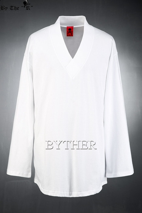 ByTheR Band V-neck Loose-fit T-shirt