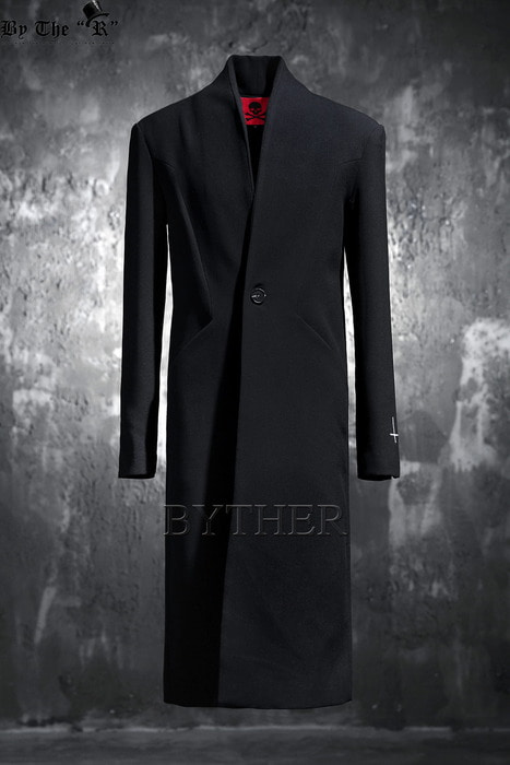 ByTheR X ProjectR Lapelless Long Blazer