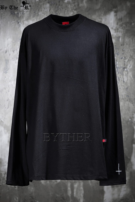 ByTheR X ProjectR Cross Embroidery Round T-shirt