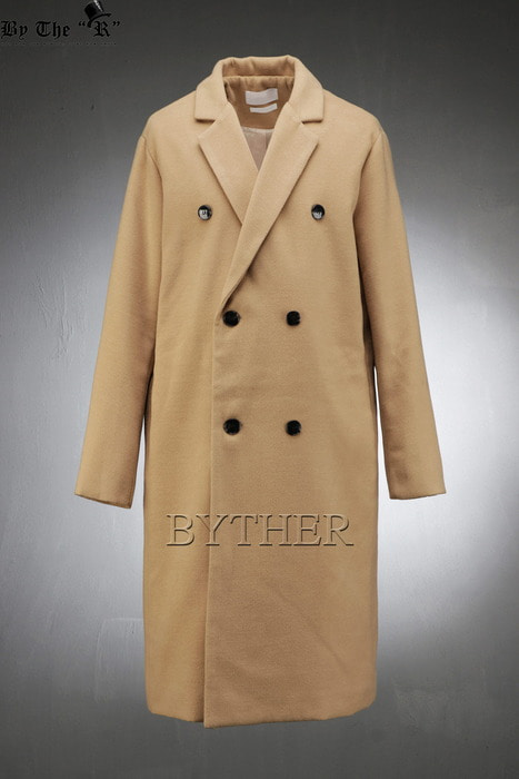 Plain Woolen Over Double Coat