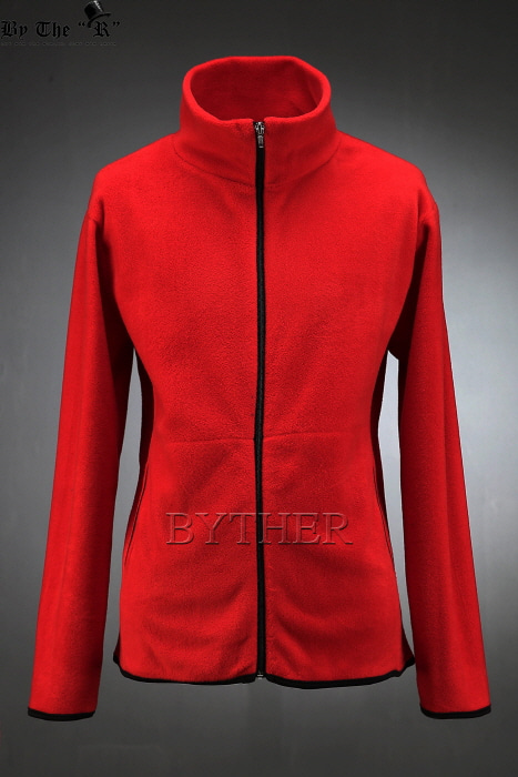 Basic Fleece Zip-up Jacket