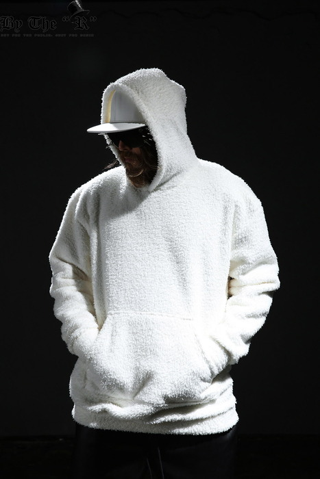 Soft Fleece Hooded T-shirt