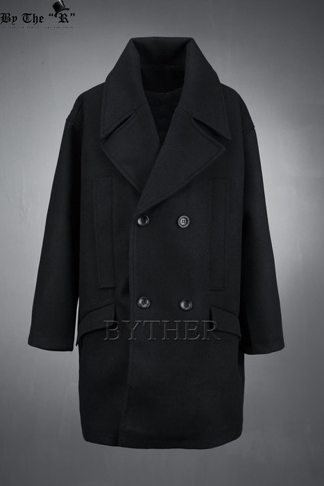 Basic Double Pocket Wool Coat