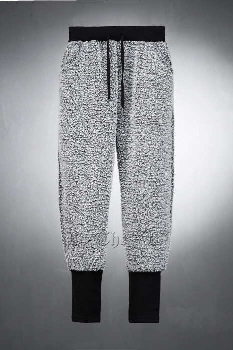 Fleece Over Banding Jogger Pants