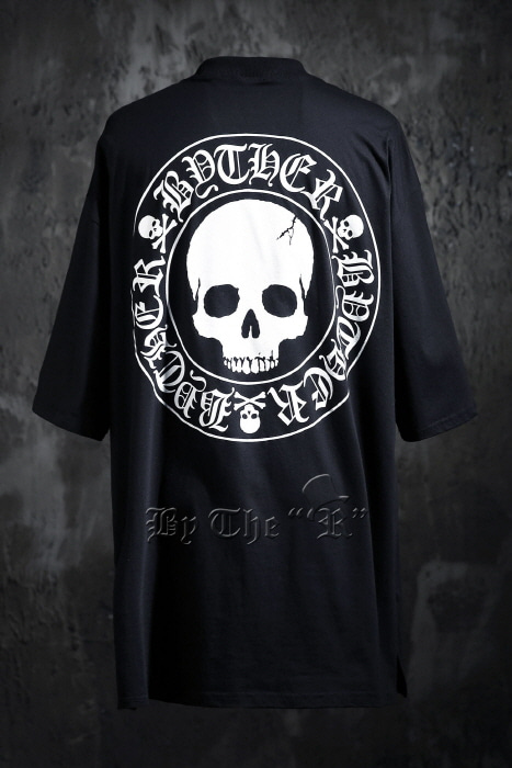 ByTheR Skull Logo T-shirt