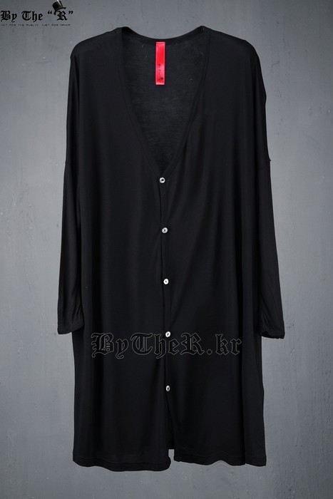 ByTheR Slim Sleeve Long Cardigan