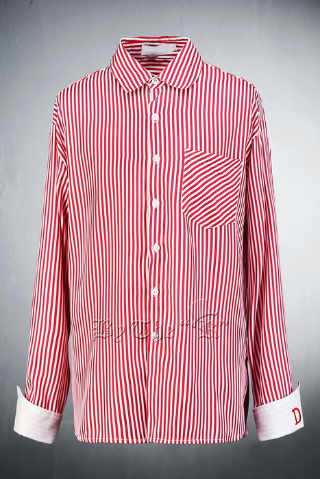 Cuffs Reversible Stripe Shirts