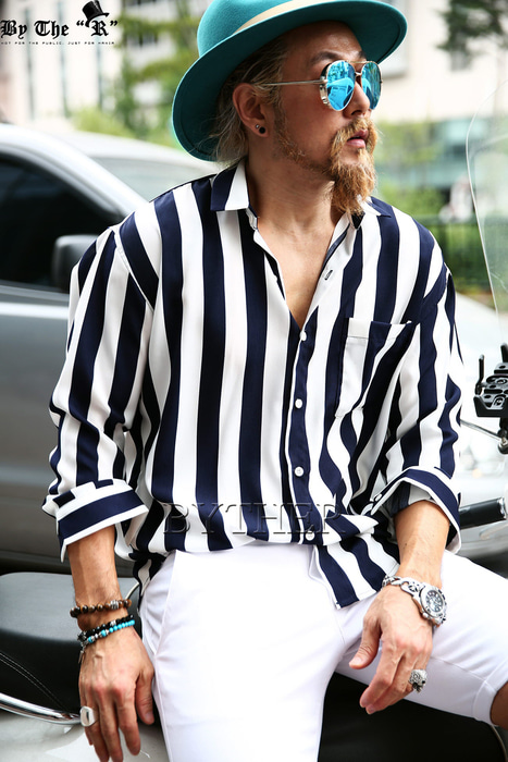 Bold Stripe Cooling Shirts