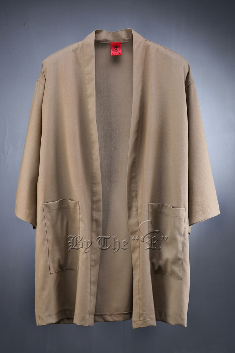 ByTheR Oriental Linen Cardigan