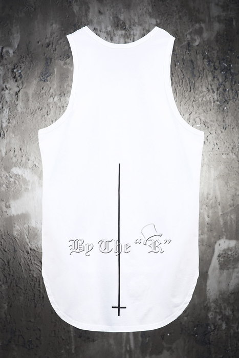 ByTheR X ProjectR Cross Layered Sleeveless Tank Top