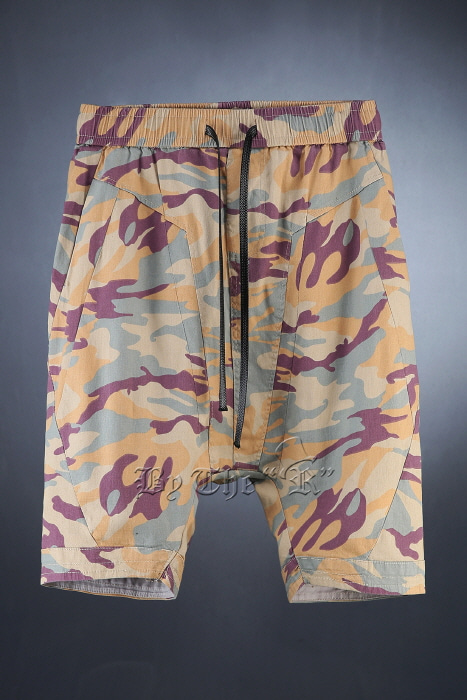 Camouflage Pattern Baggt Fit Shorts