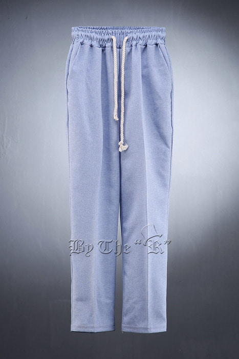 Rope String Waist Band Slacks