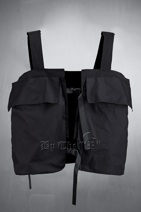ByTheR Techwear Triple Panel Vest