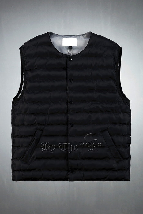 Snap Button Wellon Padded Vest