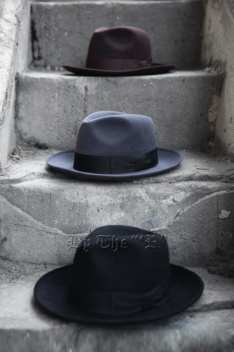 ByTheR Classic Harden Fedora Hat