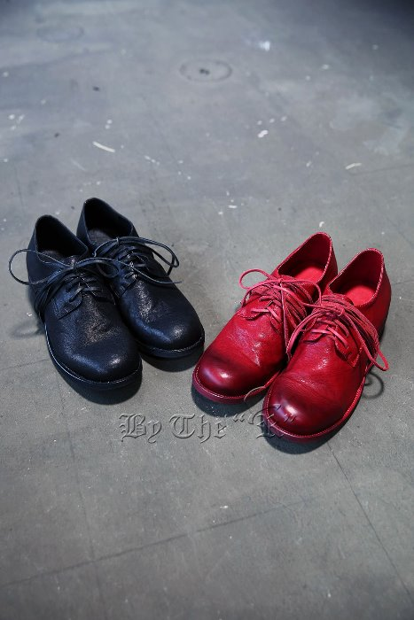 Over Shoelace Derby Shoes