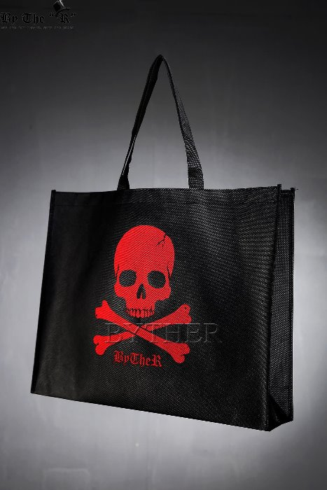 ByTheR Skull Logo Print Bag
