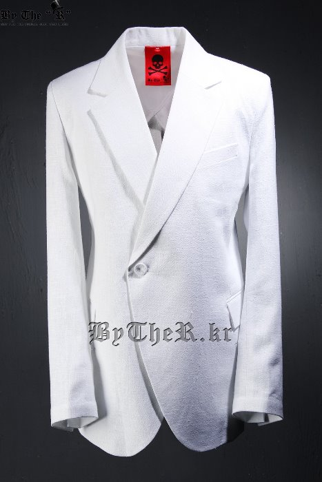 ByTheR Vivid Linen Double Blazer