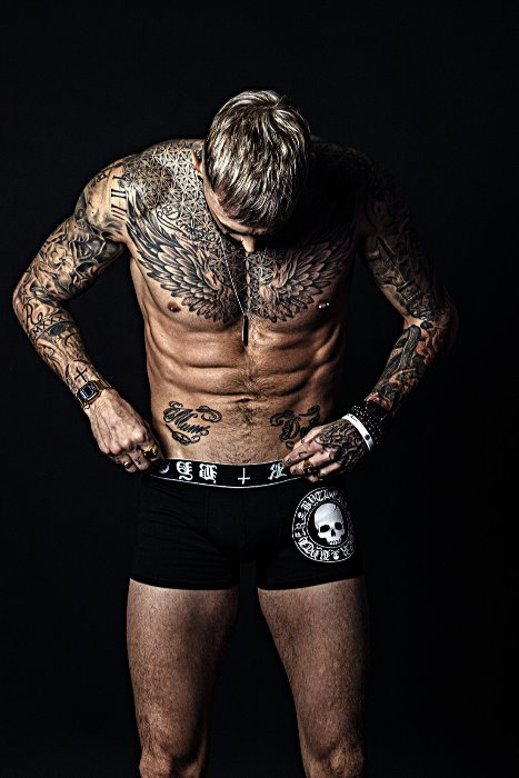 ByTheR Skull Logo Boxer Brief