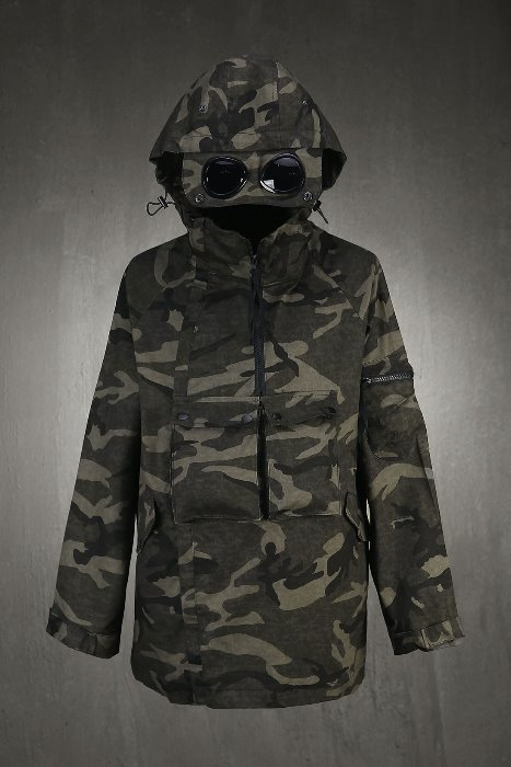 Eye Shield Front Pocket Anorak