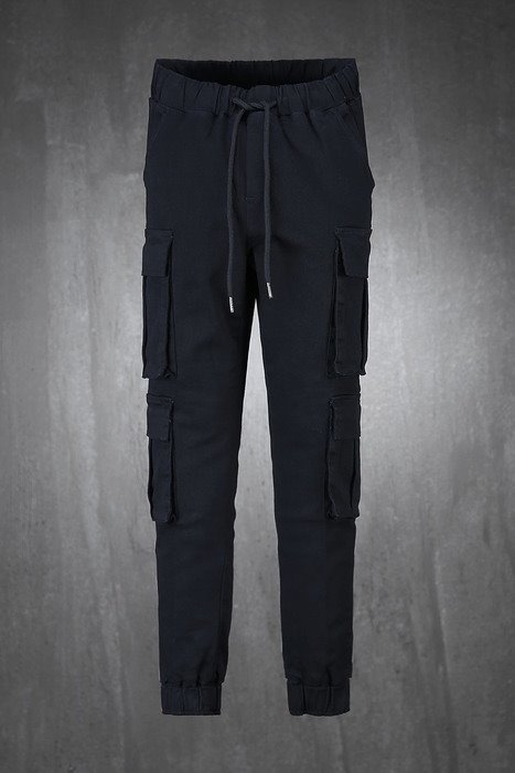 4-pocket banding jogger pants