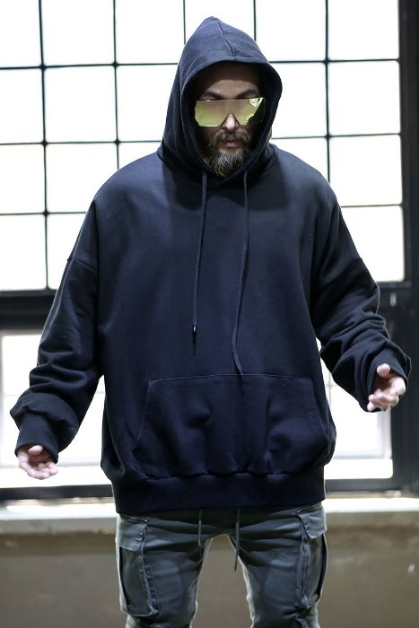 Loose Fit Basic Layered Hoodie