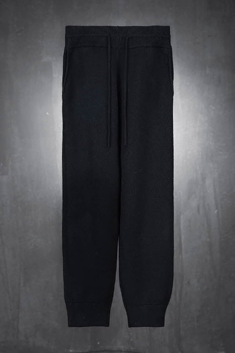 Soft knit training jogger trousers