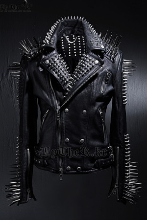 Masterpiece Fierce Studded Custom Made Jacket