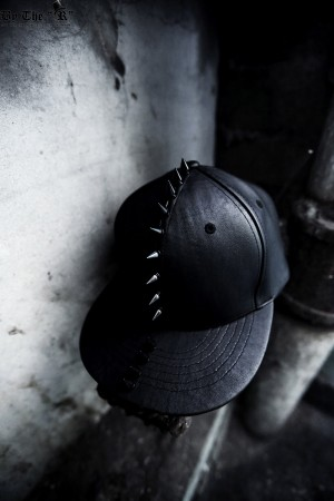 ByTheR Custom Ryuk Black Stud Snapback