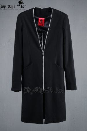ByTheR Back Incision Zip Detail Coat