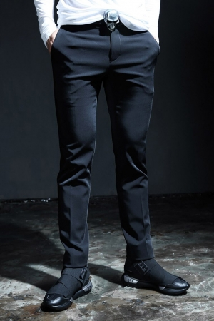ByTheR Satin Slim Fit Slacks