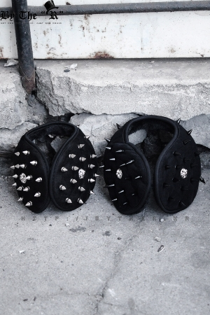 ByTheR Studded Biker Earmuff