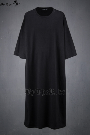 ByTheR Mono Tone Extra Long T-shirts