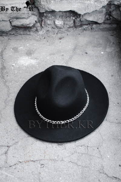 ByTheR Custom Metal Detail Mountian Fedora