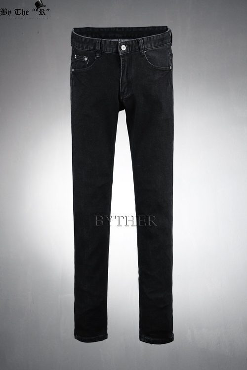 Basic Black Denim Pants