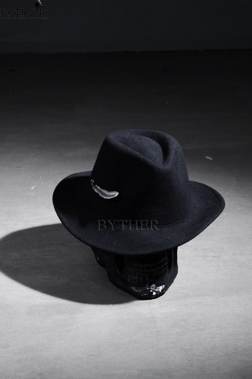 ByTheR Feather Pin Fedora