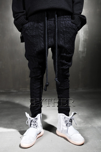ByTheR Twisted Black Pants