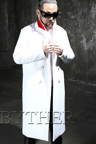 ByTheR Cross White Double Coat