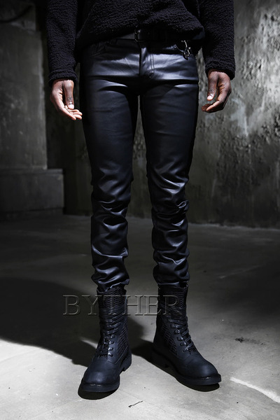 Dark Coating Skinny Jean