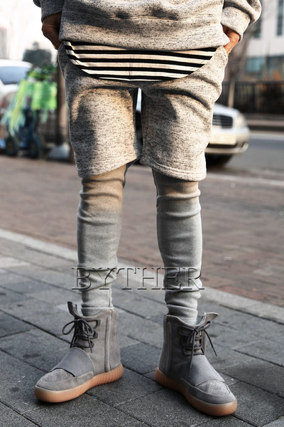 Shorts Layered Leggings Pants
