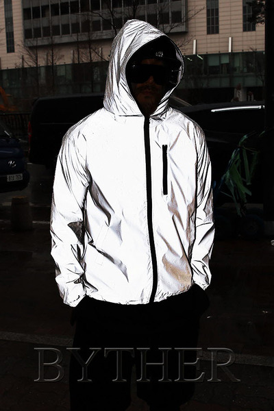 Bright Basic Hooded Windbreaker