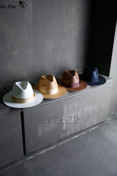 Solid Color Ribbon Fedora Hat