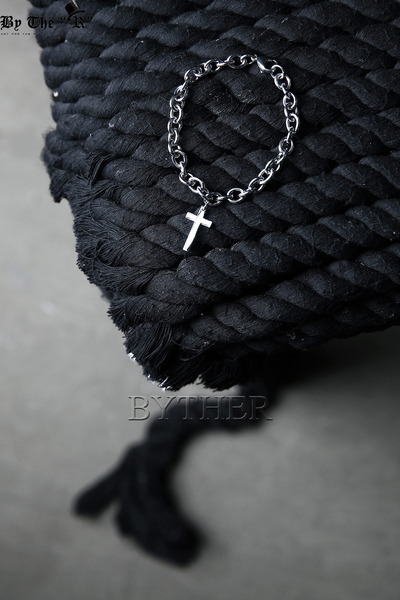 Surgical Steel Cross Bracelet