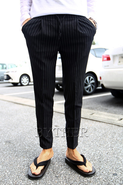 Dandy Stripe Banding Slacks