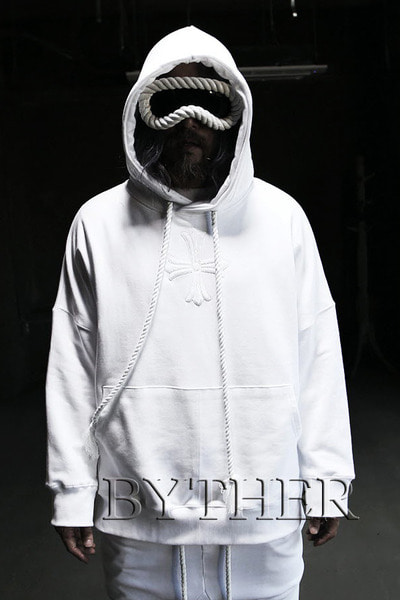 ByTheR Center Cross Hoodie