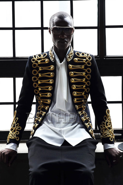 Golden Button Napoleon Jacket