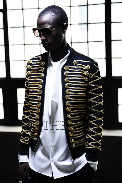 Golden Napoleon Bomber Jacket